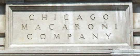 Chicago Macaroni Company Archway